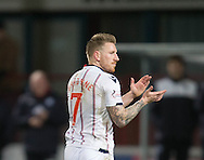 Ross County&rsquo;s Michael Gardyne - Dundee v Ross County in the Ladbrokes Scottish Premiership at Dens Park, Dundee. Photo: David Young<br /> <br />  - &copy; David Young - www.davidyoungphoto.co.uk - email: davidyoungphoto@gmail.com