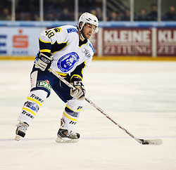 02.03.2010, Eisstadion Liebenau, Graz, AUT, EBEL, Graz 99ers vs KHL Medvescak Zagreb, im Bild Macaulay Kenneth, 48, KHL Medvescak Zagreb, EXPA Pictures © 2010, PhotoCredit: EXPA/ S. Zangrando / SPORTIDA PHOTO AGENCY