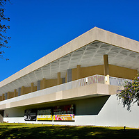 Museo de Arte de Ponce in Ponce, Puerto Rico<br /> The Museo de Arte de Ponce is the largest art museum in Puerto Rico and one of the best in the Caribbean. Its collection exceeds 4,500 works by Puerto Rican and European artists from the 14th through the 20th centuries. The most famous pieces are from the Pre-Raphaelite Brotherhood. They were an association of mid-19th century, English painters. The Pre-Raphaelites specialized in complex paintings with realistic details and elegant colors.