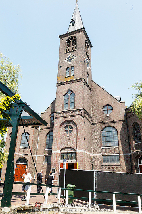 NLD/Volendam/20150703 - Uitvaart Jaap Buijs, Vincensius kerk