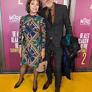 NLD/Amsterdam/20191007 - Premiere van De Alex Klaasen Revue - Showponies 2, Henriette Tol en partner Rob Snoek