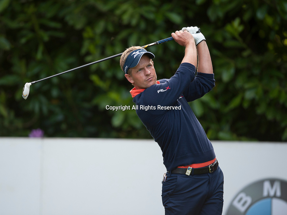 23.05.2014. Wentworth, England.   Luke DONALD [ENG] during the second round of the 2014 BMW PGA Championship from The West Course Wentworth Golf Club