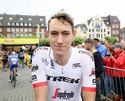 02.07.2017, Duesseldorf, GER, Tour de France, 2. Etappe von Düsseldorf (GER) nach Lüttich (BEL/203 km), im Bild GOGL Michael (AUT, Team Trek Segafredo) // Michael Gogl of Austria during Stage 2 from Duesseldorf (GER) to Luettich (BEL/203 km) of the 2017 Tour de France in Duesseldorf, Germany on 2017/07/02. EXPA Pictures © 2017, PhotoCredit: EXPA/ Martin Huber