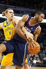 20110225 - Atlanta Hawks at Golden State Warriors (NBA Basketball)