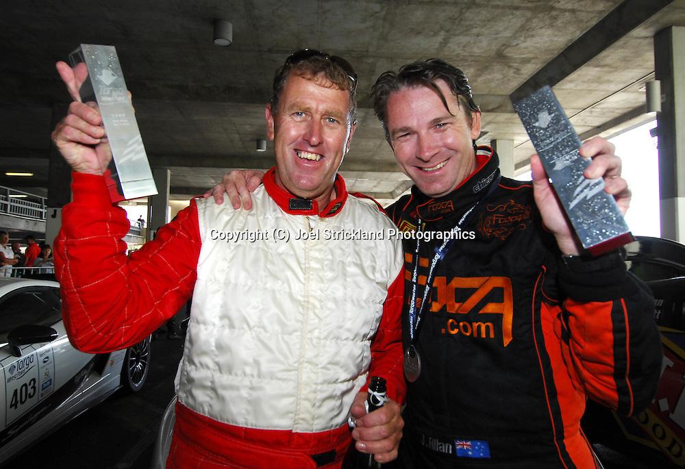 Greg Garwood & John Allen .2004 Porsche 911 GT3 RS .Day 1.Targa Wrest Point 2009.Southern Tasmania.31st of January 2009.(C) Joel Strickland Photographics.