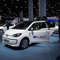VW e-up! at the IAA 2013, Frankfurt, Germany