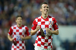 13.10.2014, Stadion Gradski vrt, Osijek, CRO, UEFA Euro Qualifikation, Kroatien vs Aserbaidschan, Gruppe H, im Bild Ivan Perisic // during the UEFA EURO 2016 Qualifier group H match between Croatia and Azerbaijan at the Stadion Gradski vrt in Osijek, Croatia on 2014/10/13. EXPA Pictures © 2014, PhotoCredit: EXPA/ Pixsell/ Igor Kralj<br /> <br /> *****ATTENTION - for AUT, SLO, SUI, SWE, ITA, FRA only*****