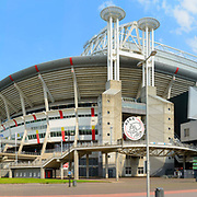 Panoramafoto voetbalstadion Galgenwaard FC Utrecht, Ajax.