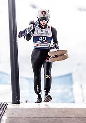 22.02.2019, Bergiselschanze, Innsbruck, AUT, FIS Weltmeisterschaften Ski Nordisch, Seefeld 2019, Skisprung, Herren, im Bild Halvor Egner Granerud (NOR) // Halvor Egner Granerud of Norway during the men's Skijumping of FIS Nordic Ski World Championships 2019. Bergiselschanze in Innsbruck, Austria on 2019/02/22. EXPA Pictures © 2019, PhotoCredit: EXPA/ JFK