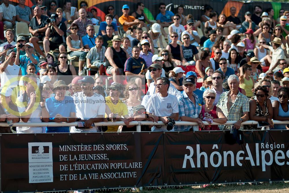Behind the scenes, Spectators, , , 2013 IPC Athletics World Championships, Lyon, France