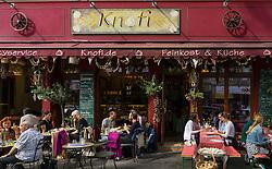 Knofi restaurant on Bergmannstrasse in Kreuzberg Berlin Germany