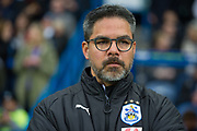 Huddersfield Town Head Coach David Wagner during the Premier League match between Huddersfield Town and Everton at the John Smiths Stadium, Huddersfield, England on 28 April 2018. Picture by Craig Zadoroznyj.