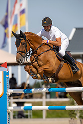 Lemmen Patrick, NED, Full Option<br /> Nederlands Kampioenschap Springen<br /> De Peelbergen - Kronenberg 2020<br /> © Hippo Foto - Dirk Caremans<br />  06/08/2020