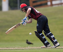 Canterbury's Michael Pollard batting against Otago Volts in the Ford Trophy one-day domestic cricket match at the University of Otago Oval, Dunedin, New Zealand, Saturday, January 27, 2018. Credit:SNPA / Adam Binns ** NO ARCHIVING**