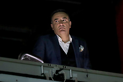 Former Sheffield Wednesday manager Carlos Carvalhal in the Sky Sports box during the Sky Bet Championship match at Hillsborough, Sheffield.