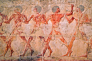 Ancient Egyptian hieroglyphs, Mortuary Temple of Queen Hatshepsut (Deir Al-Bahri), West Bank of the Nile Valley, Luxor, Egypt