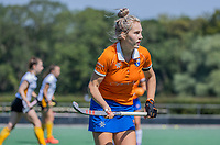 BLOEMENDAAL   -  Teuntje Horn (Bldaal)   oefenwedstrijd dames Bloemendaal-Victoria, te voorbereiding seizoen 2020-2021.   COPYRIGHT KOEN SUYK