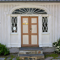 John Bentsens Hus in Kristiansand, Norway<br /> This former house of John Bentsen was built in 1855. He was a musikkløytnant or lieutenant in the military band. During its early history, this small building housed close to 40 people including soldiers. Inside and in the backyard you will find period furniture and implements.  This is also the location for a town market on Saturdays during the summer.