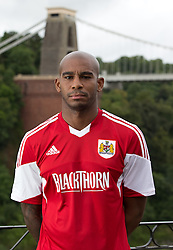 Marvin Elliot of Bristol City - Photo mandatory by-line: Kieran McManus/JMP - Tel: Mobile: 07966 386802 31/07/2013 - SPORT - FOOTBALL - Avon Gorge Hotel - Clifton Suspension bridge - Bristol -  Team Photo