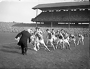 23/09/1956<br /> 09/23/1956<br /> 23 September 1956<br /> All-Ireland Final: Cork v Wexford at Croke Park, Dublin.