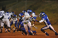 Water Valley's Chris Conard (7) makes a tackle for loss vs. Aberdeen in Water Valley, Miss. on Friday, October 21, 2011. Water Valley won 20-14.