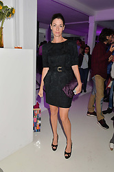 MARY McCARTNEY at the OFFtheGRID event - a solar-powered party on a London rooftop to support our renewable energy future hosted by Dame Vivienne Westwood supported by the Trillion Fund at 151-155 New North Road, London N1 on 4th September 2014.