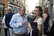 PAUL FREUD; GISANE CAMPOS, Private View for The Douglas Brothers - SEE / SAW. BERMONDSEY PROJECT SPACE, London. 14 June 2017
