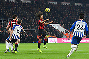 Nathan Ake (5) of AFC Bournemouth controls the ball during the Premier League match between Bournemouth and Brighton and Hove Albion at the Vitality Stadium, Bournemouth, England on 21 January 2020.