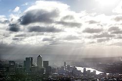 London skyline advertising commission. Photo: Anthony Charlton