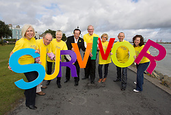 Repro Free: 19/09/2013<br /> Photo Caption<br /> RT&Eacute;'s GAA Broadcaster Marty Morrissey launchesIrish Cancer Society National Conference for Cancer Survivorship<br /> <br />  <br /> 19th September 2013: Pictured today was RTE GAA broadcaster Marty Morrissey who helped a group of cancer survivors launch the Irish Cancer Society National Conference for Cancer Survivorship. Ahead of a big weekend of Irish sport, Marty was on hand to promote the Society&rsquo;s largest survivorship conference which it is holding as part of its 50th year celebrations.<br />  <br /> The Irish Cancer Society National Conference for Cancer Survivorship will take place in the Aviva Stadium in Dublin on Friday 20th and Saturday 21st of September and is kindly supported by Roche. The Conference will address the needs of the growing numbers of cancer survivors who are looking to access information and support around the effects of a cancer diagnosis. <br />  <br /> Cancer Survivors are as follows: <br />  Hilary Coffey Farrell, Cervical Cancer Survivor, Kimmage.<br /> John Langton Mouth, Head and Neck Cancer Survivor, Terenure.<br /> Nicola Elmer, Breast Cancer Survivor, Inichore. Picture Andres Poveda<br /> <br />  <br /> ENDS<br />  <br /> Contact: &Oacute;rla Sheils, Communications Officer, Irish Cancer Society. Telephone: 01 2310559 / 087 6453867. Email: osheils@irishcancer.ie .