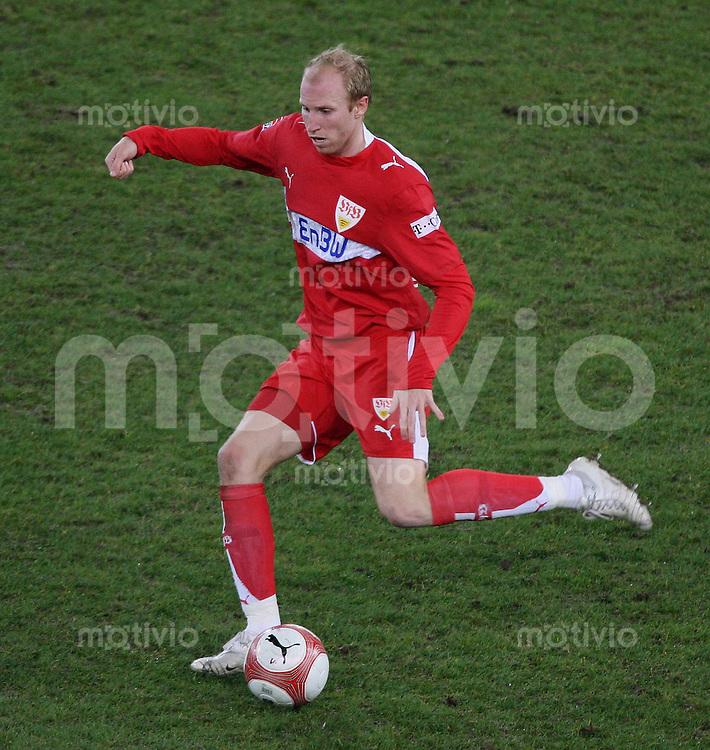 Fussball Bundesliga 23. Bundesliga  VfB Stuttgart 0-0 Hertha BSC Berlin Ludovic Magnin (VfB) am Ball