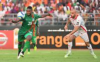 Aymen Abdennour (TUN)  vs vs Emmanuel Mayuka (ZAM)