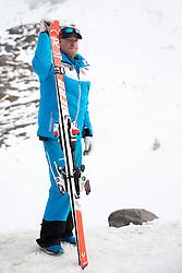 06.10.2015, Moelltaler Gletscher, Flattach, AUT, OeSV Medientag, im Bild Sportlicher Leiter Herren- Alpin Andreas Puelacher // men' s headcoach Andreas Puelacher during the media day of Austria Ski Federation OSV at Moelltaler glacier in Flattach, Austria on 2015 10/05. EXPA Pictures © 2015, PhotoCredit: EXPA/ Johann Groder
