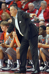 17 December 2014:  Heath Schroyer during an NCAA Men's Basketball game between the Skyhawks of University of Tennessee - Martin and the Redbirds of Illinois State at Redbird Arena in Normal Illinois