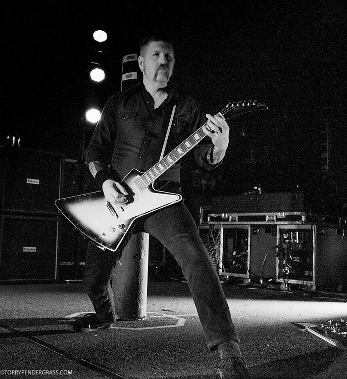 """Mastodon performs in support of """"Once More 'Round The Sun"""" in Portland, OR on April 29, 2014"""