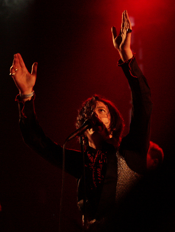 The Jim Jones Review performs at the El Rey Theater in Los Angeles, March 12, 2011. (Jason Redmond photo)