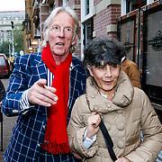 NLD/Amsteram/20121024- Presentatie biografie Joop van den Ende, Freek de Jonge en partner Hella Asser