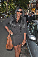 LONDON - August 08: Mica Paris at OMEGA House Presents 'Athletics Night' Party (Photo by Brett D. Cove)