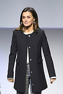 Queen Letizia of Spain attends 10th anniversary of 'Integra BBVA Awards' at BBVA city on November 22, 2018 in Madrid, Spain