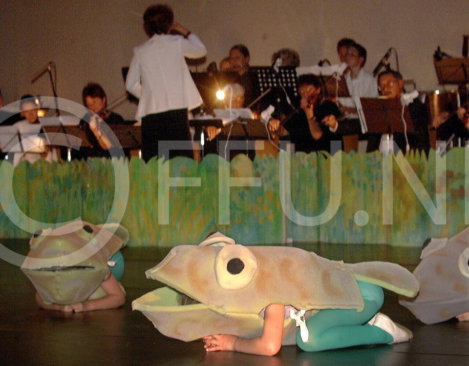 Fotografie Uijlenbroek©1999/Frank Brinkman.99-06-11 hardenberg ned.voorvechter ballet voorstelling