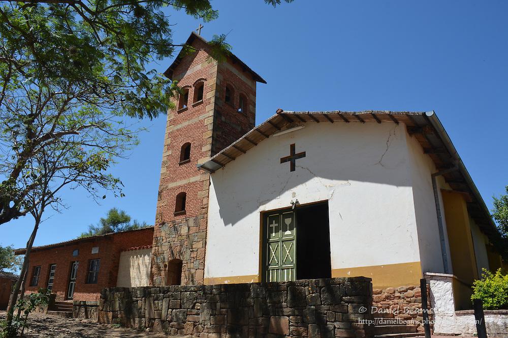 Catholic church in Pampa Grande, Santa Cruz, Bolivia