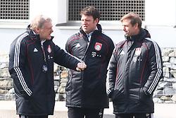 06.03.2011, Trainingsgelaende, Muenchen, GER, 1.FBL, Training FC Bayern Muenchen , im Bild  Hermann Gerland (Co-Trainer Bayern) im gespraech, EXPA Pictures © 2011, PhotoCredit: EXPA/ nph/  Straubmeier       ****** out of GER / SWE / CRO  / BEL ******