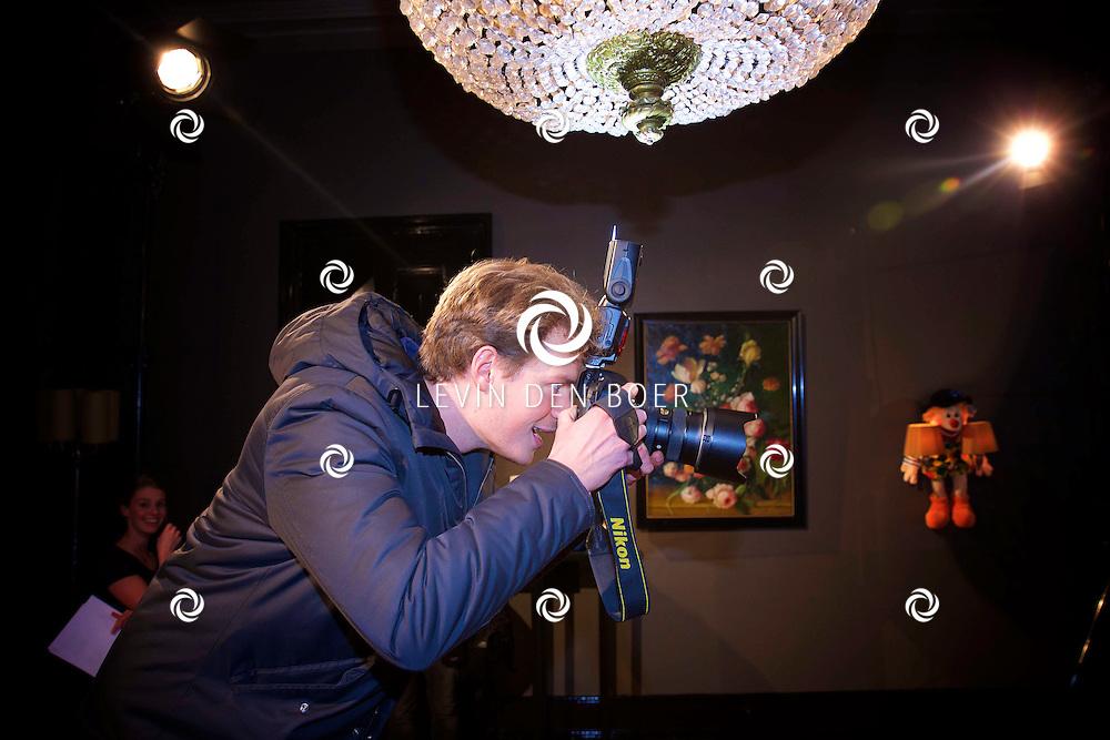 AMSTERDAM - SBS6 Presenteerde hun nieuwste programma 'Popster'. Met hier op de foto fotograaf Remko de Waal. FOTO LEVIN DEN BOER - KWALITEITFOTO.NL