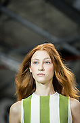 UNITED KINGDOM, London: 19 September 2015 Models present creations by designer Jasper Conran during London Women's fashion week in London, England. Pic by Andrew Cowie / Story Picture Agency