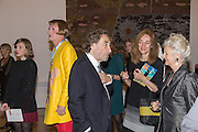 GRAYSON PERRY; HOWARD JACOBSON, Australia, Royal Academy of Arts Piccadilly. London. 17 September 2013