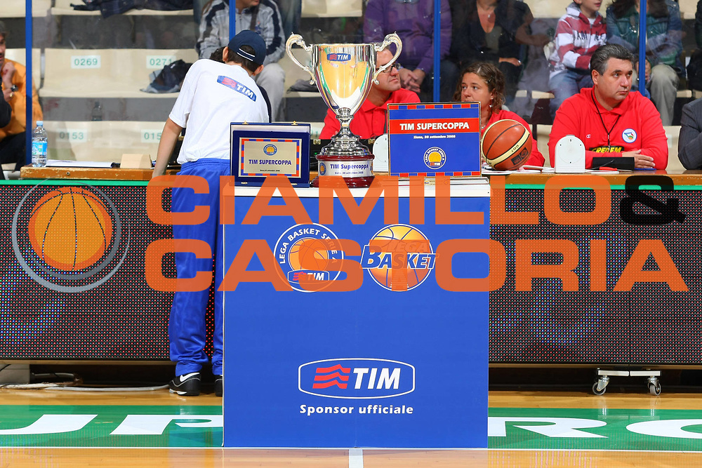 DESCRIZIONE : Siena Lega A1 2008-09 1 TIM Supercoppa 2008 Montepaschi Siena Air Avellino<br /> GIOCATORE : Premio<br /> SQUADRA : <br /> EVENTO : Tim Supercoppa 2008 <br /> GARA : Montepaschi Siena Air Avellino<br /> DATA : 30/09/2008 <br /> CATEGORIA : <br /> SPORT : Pallacanestro <br /> AUTORE : Agenzia Ciamillo-Castoria/G.Ciamillo<br /> Galleria : Lega Basket A1 2008-2009 <br /> Fotonotizia : Siena TIM Supercoppa 2008 Lega A1 Montepaschi Siena Air Avellino<br /> Predefinita :