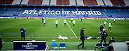 MADRID, persconferentie en training PSV, 22-11-2016, voetbal, Champions League, seizoen 2016-2017, Estadio Vicente Calderon, overzicht, spelers op het veld.