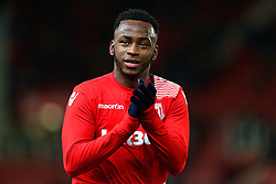 Saido Berahino of Stoke City applauds the fans - Mandatory by-line: Matt McNulty/JMP - 01/02/2017 - FOOTBALL - Bet365 Stadium - Stoke-on-Trent, England - Stoke City v Everton - Premier League
