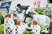Kevin Staut - Silvana HDC<br /> Rolex FEI World Cup Final 2013<br /> © DigiShots