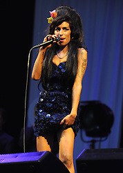 Jun 28, 2008 - Glastonbury, England, United Kingdom - Singer AMY WINEHOUSE plays live at the Glastonbury Music Festival 2008 (Credit Image: Axel/ZUMAPRESS.com)